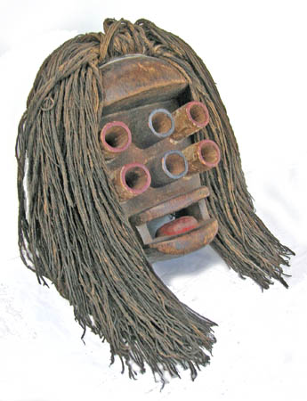African tribal art Dan Gurre mask
