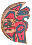 Coast Salish plaque