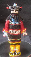 Zuni beaded dancer