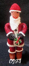 Santa Clause figure