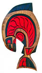 Coast Salish Salmon plaque