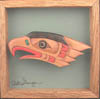 Artie George Coast Salish eagle miniature
