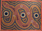 Karen Taylor Aboriginal dot painting