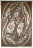 Larry Nalorman Aboriginal art painting
