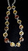 Ray Delgarito amber necklace