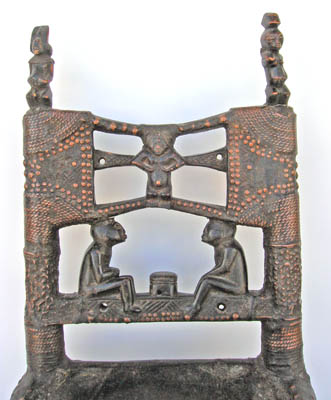 Tchowke chair - African tribal art