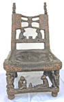 African Tchokwe tribal art chair