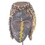 African tribal mask - Luba Ngaady